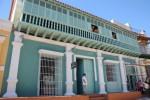 En la segunda planta funcionará el Centro de Documentación. Solo dos viviendas en Trinidad tienen un falso techo con esta característica.