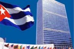 En su intervención en la Asamblea General, la representante cubana reiteró la defensa de su país al derecho inalienable de todos los estados al uso pacífico de la energía nuclear.