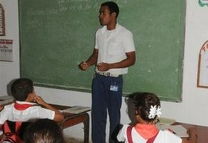 Los futuros maestros completan su formación desde el marco escolar.
