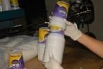 Los potes litografiados para la producción de helados forman parte de las más recientes producciones.