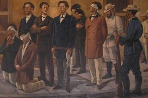 Un minuto de silencio honró a los ocho jóvenes asesinados por el colonialismo español hace 142 años.