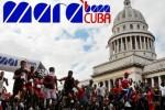 Marabana constiuye una fiesta del maratón en Cuba.