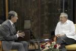 Raúl y Sechin dialogaron sobre las posibilidades que ofrece la Zona Especial de Desarrollo de Mariel para futuras inversiones.