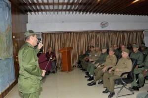 El General de Ejército también recorrió el Mausoleo a los Héroes y Mártires de Artemisa que participaron en el asalto al Cuartel Moncada.