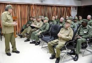 Raúl valoró la importancia de este territorio para la defensa del país dada su cercanía a la capital.