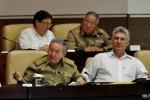 Preside Raúl última sesión del Parlamento Cubano en 2013.
