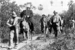 General William R. Shafter, jefe de las fuerzas expedicionarias norteamericanas. Se sirvió ampliamente de los cubanos, pero nunca reconoció su beligerancia.