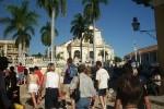 Trinidad resulta una importante plaza turística de Cuba.