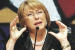 Bachelet es partidaria de una nueva Constitución, que ponga fin a la actual Carta Magna, heredada de la dictadura Pinochet.