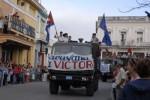 La caravana de la Libertad es reeditada por los jóvenes espirituanos en cada enero.