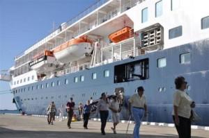 Además del Minerva, en el puerto de Casilda atracarán otros nueve cruceros.