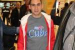 Elián forma parte de la delegación cubana que participa en el XVIII Festival Mundial de la Juventud y los Estudiantes.