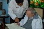 Encuentro de Fidel y Maduro en La Habana, 21 de diciembre de 2013.