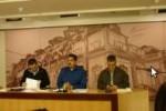 Maduro respondió preguntas a reporteros durante una conferencia de prensa realizada en el Palacio de Miraflores.