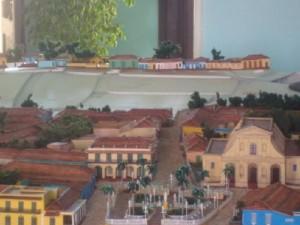 El área de la Plaza Mayor, la Iglesia, el Convento y los parques, fueron los espacios más complejos.