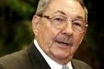 El Presidente cubano Raúl Castro se encuentra en Sudáfrica para asistir a los funerales de Mandela.
