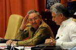 Raúl durante la sesión inaugural del II Período de sesiones de la Asamblea Nacional de Poder Popular.