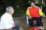 Raúl y Maduro dialogaron sobre la victoria de la Revolución Bolivariana y Chavista en las recientes elecciones municipales en Venezuela.
