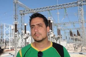 Fernando Matienzo, director de la subestación de 220 kV.
