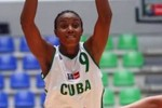 Yamara Amargo fue seleccionada como la más destacada de Cuba en deportes colectivos.