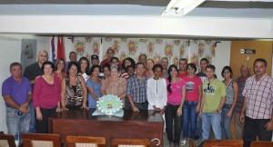 Encuentro del colectivo de Escambray en el aniversario 35 de su fundación.