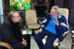 Fidel y Ramonet el pasado 13 dediciembre de 2013. Foto: Alex Castro