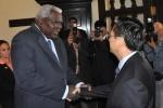 Lazo recibió a Chen Changzhi, Vicepresidente del Comité Permanente de la Asamblea Nacional de la República Popular China.