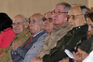 El vicepresidente cubano José Ramón Machado Ventura encabezó la celebración.