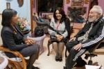 Fidel y Portia Simpson recordaron las relaciones históricas entre Cuba y Jamaica.