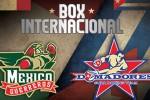 Tope de Boxeo Cuba-México.