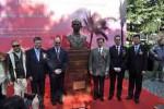 El embajador Blanco agradeció a las autoridades de Shanghai por acoger en esa ciudad un busto del Apóstol cubano.
