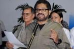 Iván Márquez, jefe de la delegación insurgente que efectúa los diálogos de paz en La Habana con el Gobierno colombiano.