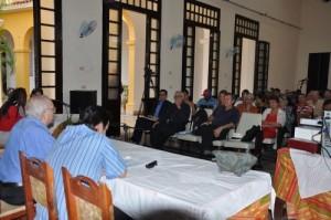 Más de un centenar de investigadores e historiadores de toda la isla y foráneos participan en el Coloquio 500 aniversario de la cultura trinitaria.