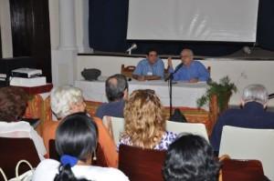 Las palabras inaugurales del evento fueron pronunciadas por Edel Morales y por el doctor Manuel Lagunilla.