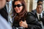 Momento de la llegada de Cristina a La Habana.