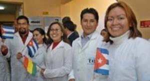 Los galenos cubanos en Bolivia han ofrecido cerca de 60 millones de consultas.