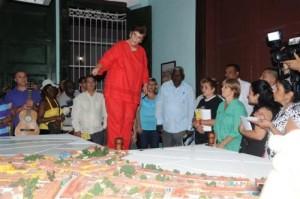 Los invitados al cumpleaños de la ciudad constataron los esfuerzos del territorio en la preservación del patrimonio arquitectónico.