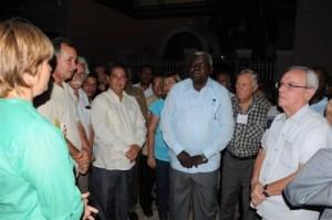 Lazo y el resto de los invitados participaron en la inauguración de obras patrimoniales en el centro histórico y el Valle de los Ingenios.
