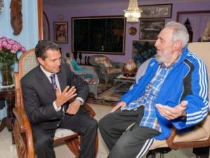 En el intercambio fueron recordados los históricos lazos existentes entre Cuba y México. (foto: Granma)
