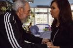 Fidel y Cristina conversaron sobre temas regionales y de los principales problemas que enfrenta la humanidad. (Foto Archivo)
