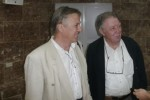 De izquierda a derecha los dos científicos extranjeros invitados al encuentro: Gunther Fisher y Michael Tynan.