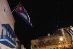 El acto tiene como escenario el histórico parque Céspedes, ubicado frente al Ayuntamiento de la ciudad de Santiago de Cuba.