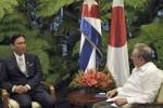 Raúl Castro y Furuya dialogaron acerca de otros temas de la agenda internacional.