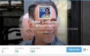 Más de 140 seguidores había ganado en apenas dos horas @ReneCuban5.