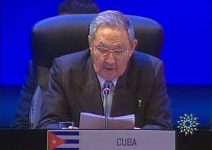 Raúl declara a América Latina y el Caribe como zona de paz.