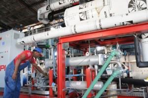 En la destilería Tuinucú se concluye este año una inversión para la producción de gas carbónico.