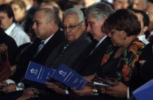 Miguel Díaz-Canel, primer vicepresidente de los Consejos de Estado y de Ministros, encabezó la ceremonia inaugural de Universidad 2014.
