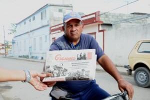 Aunque se declara jaranero, Alejandro Díaz es sumamente respetuoso en su trabajo.