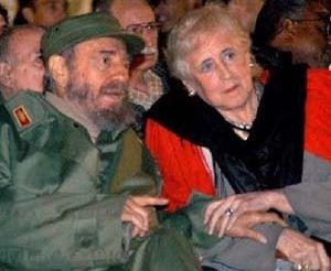 En el libro aparecen también sus entrevistas al líder cubano Fidel Castro.