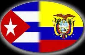 Cuba y Ecuador demuestran al mundo que es posible la cooperación entre dos países pequeños.